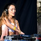 DJ FelNLove was one of the highlights of the Electronic Sriracha Festival.
