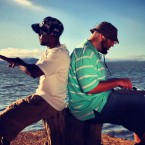 Amir Tyson, left, and Ridwan Bass (onBEATS), right, each hail from San Jose and are deeply rooted in the local scene.