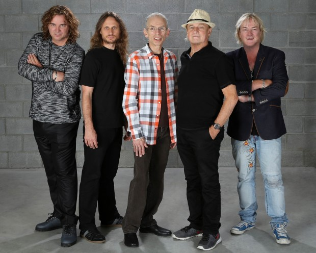 Veteran prog rock act Yes will keep playing after the death of bassist and co-founder, Chris Squire. Photo by Glenn Gottlieb.