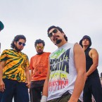 """MIXING IT UP: Peruvian band La Inedita, fuse reggaeton, """"chicha"""" and other Latin flavors to create their signature sound."""