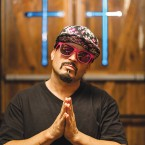 RISEN STAR: San Jose emcee Kung Fu Vampire is back with a new album and a new look.