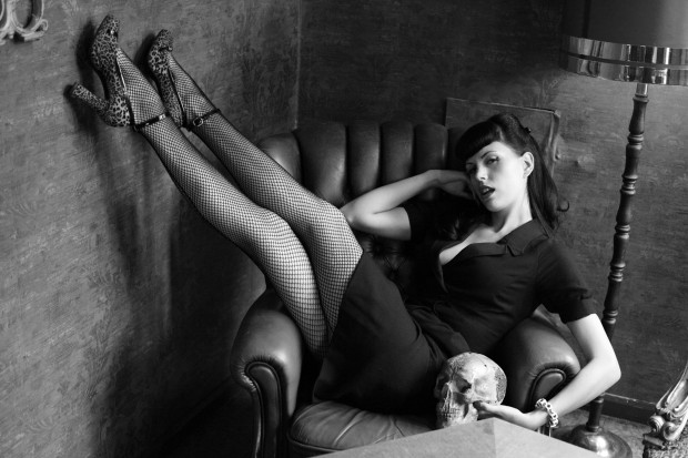 SEXY SURF ROCK: Zombierella, front woman for Russian surf rock outfit Messer Chups, plays The Ritz.