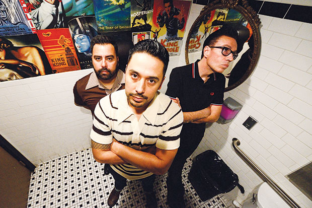 The Trims' frontman and primary songwriter Gabriel Maciel says his band is at the top of its game. Photo by Greg Ramar