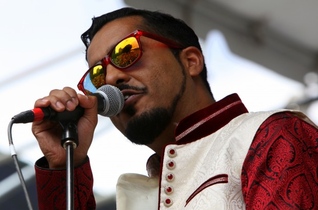 INTERNATIONAL FLAVOR: San Jose blues singer Aki Kumar is one of many Bay Area and international talents playing the Little Village Showcase.