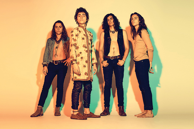 Greta Van Fleet stand accused of ripping Led Zeppelin, though they say they're just doing their thing. Photo by Travis Shinn