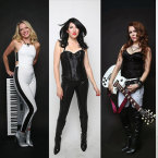 KILLING IT: The Killer Queens, fronted by Nina Noir, center, are a gender-bent tribute to Queen.
