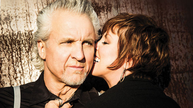 POWER COUPLE: Pat Benatar comes to the Mountain Winery with her husband and creative collaborator, Neil Giraldo.