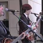 PRE-FAB FOUR: Beatles cover band Ticket to Ride bring the fab four's tunes to Courtyard Square.