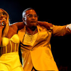 OVER HERE: After releasing new joint single 'Thriving' Nas & Mary J. Blige play Shoreline Amphitheatre.