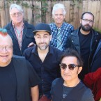 MYSTIC KNIGHT: Drummer Johnny 'Vatos' Hernandez, at 4 o'clock, leads Oingo Boingo Former Members at the Mountain Winery.