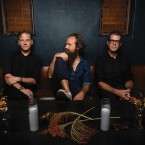 TEAM PLAYERS: The chemistry is palpable between Sam Beam of Iron & Wine and Joey Burns and John Convertino of Calexico.