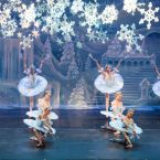 SNOW FOREST: The Moscow Ballet's annual 'Nutcracker' is a sight to be beheld at California Theatre.