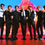 M-POP: Korean K-pop superstars SuperM bring their new dance style 'jopping' to the SAP Center.
