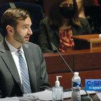DOJ TV: John Elias speaks on C-SPAN. PHOTO C-SPAN screen capture.