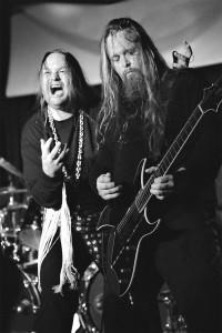 Guitarist Steve Smyth and Lance Ozanix channel Black Sabbath. Photo by Kris McDonald.