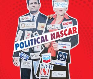 Metro Cover Story Photo: Political Nascar